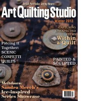 Art quilting studio winter issue